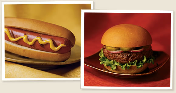 hamburger&hotdog
